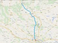 Plan de la région Prahova